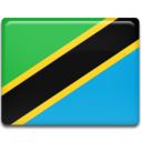 128x128px size png icon of Tanzania Flag