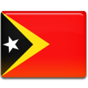 128x128px size png icon of Timor Leste Flag