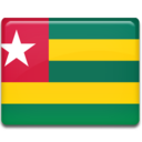 128x128px size png icon of Togo Flag