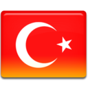 128x128px size png icon of Turkey Flag