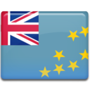 128x128px size png icon of Tuvalu Flag