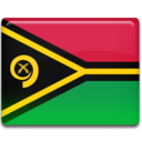 128x128px size png icon of Vanuatu Flag