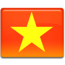 128x128px size png icon of Vietnam Flag