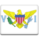 128x128px size png icon of Virgin Islands Flag