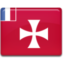 128x128px size png icon of Wallis and Futuna Flag