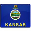 128x128px size png icon of Kansas Flag