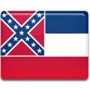 128x128px size png icon of Mississippi Flag