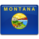 128x128px size png icon of Montana Flag