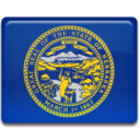 128x128px size png icon of Nebraska Flag