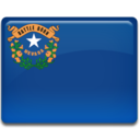 128x128px size png icon of Nevada Flag