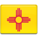 128x128px size png icon of New Mexico Flag