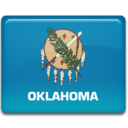 128x128px size png icon of Oklahoma Flag