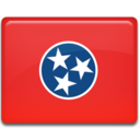 128x128px size png icon of Tennessee Flag