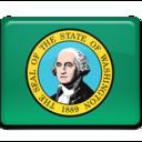 128x128px size png icon of Washington Flag