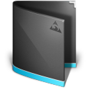 128x128px size png icon of Antares Folder Black