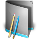 128x128px size png icon of Aplications Folder