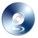 128x128px size png icon of Blue Ray Disc 2