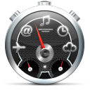 128x128px size png icon of Dashboard Black