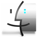 Finder Cristal Icon