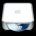 128x128px size png icon of Mac Mini DVD