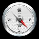 128x128px size png icon of Safari White