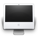 128x128px size png icon of iMac