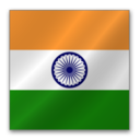 128x128px size png icon of India flag