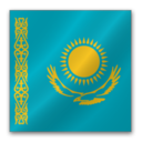 128x128px size png icon of Kazakhstan flag