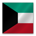 128x128px size png icon of Kuwait flag