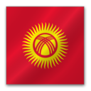 128x128px size png icon of Kyrgyzstan flag
