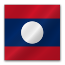 128x128px size png icon of Laos flag