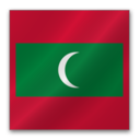 128x128px size png icon of Maldives flag