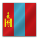 128x128px size png icon of Mongolia flag