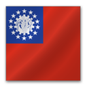 128x128px size png icon of Myanmar flag