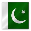 128x128px size png icon of Pakistan flag