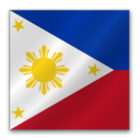 128x128px size png icon of Philippines flag