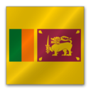 128x128px size png icon of Sri Lanka flag