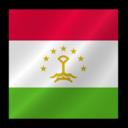 128x128px size png icon of Tajikistan flag