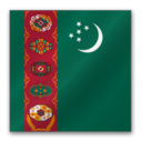 Turkmenistan flag Icon