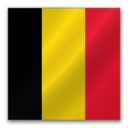 128x128px size png icon of Belgium flag