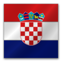 128x128px size png icon of Croatia flag