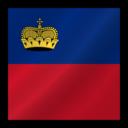 128x128px size png icon of Liechtenstein flag