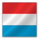 128x128px size png icon of Luxembourg flag