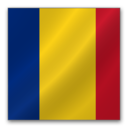 128x128px size png icon of Romania flag