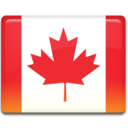 128x128px size png icon of Canada Flag