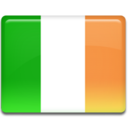 128x128px size png icon of Ireland Flag