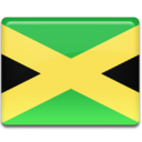 128x128px size png icon of Jamaica Flag
