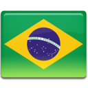 128x128px size png icon of Brazil Flag