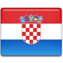 128x128px size png icon of Croatian Flag