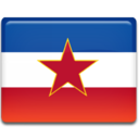 128x128px size png icon of Ex Yugoslavia Flag